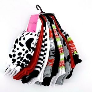 Betsey Johnson Low Cut 10 Pack Ankle Socks